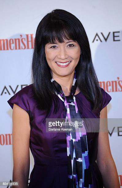 Actress Suzanne Whang attends The Women's Health Magazine Green For Good Soiree at The Sunset Tower Hotel on October 23, 2008 in Los Angeles,...