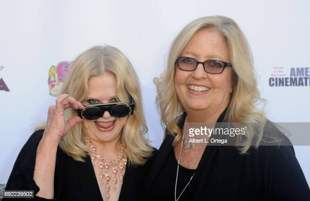 Actress Suze Lanier Bramlett and Wendy Campbell arrive for Etheria Film Night held at The Egyptian Theatre on June 3 2017 in Los Angeles California