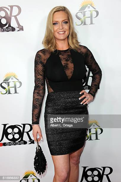 Actress Suzette Brown arrives for the Premiere Of JR Productions' 'Halloweed' held at TCL Chinese 6 Theatres on March 15 2016 in Hollywood California