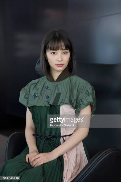 Actress Suzu Hirose is photographed for Self Assignment on September 4 2017 in Venice Italy