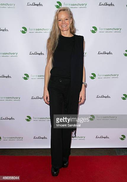 Actress Suzy Amis attends The Conscientious Table event at Crossroads Kitchen on September 29 2014 in Los Angeles California