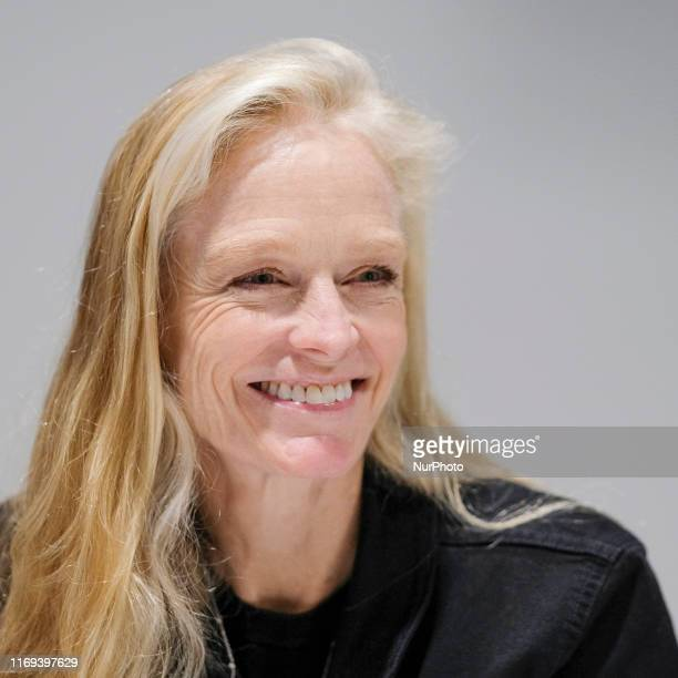 Actress Suzy Amis Cameron presents the book The OMD plan in Madrid on September 18, 2019 in Madrid, Spain