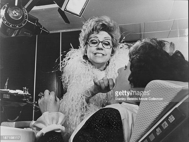 Actress Suzy Delair in a scene from the film 'The Mad Adventures of Rabbi Jacob' 1973