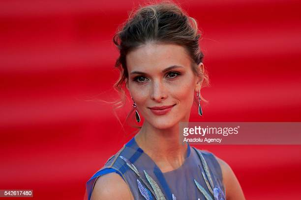 Actress Svetlana Ivanova attends the opening the 38th Moscow International Film Festival in Moscow Russia on June 23 2016