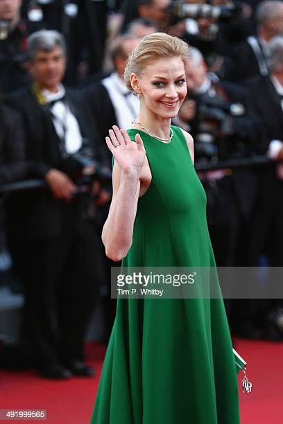 Actress Svetlana Khodchenkova attends 'The Homesman' premiere during the 67th Annual Cannes Film Festival on May 18 2014 in Cannes France