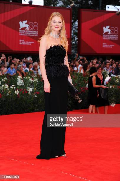 Actress Svetlana Khodchenkova attends the 'Tinker Tailor Soldier Spy' Premiere during the 68th Venice International Film Festival at Palazzo del...