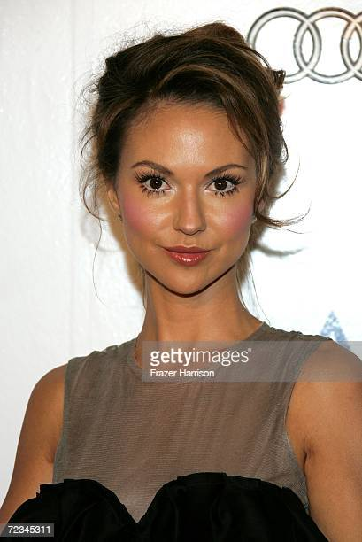 Actress Svetlana Metkina arrives at the AFI FEST presented by Audi opening night gala of Bobby at the Grauman's Chinese Theatre on November 1 2006 in...