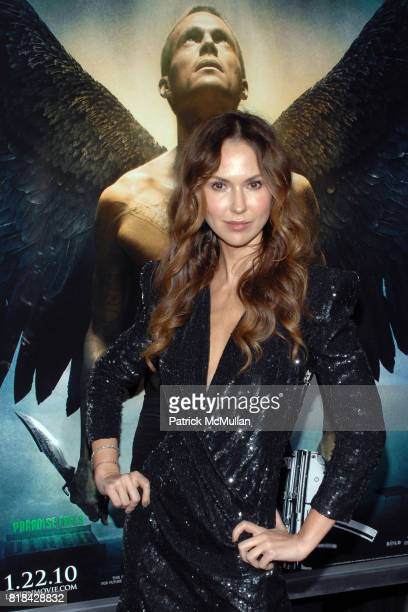 Actress Svetlana Metkina attends LEGION World Premiere at Arclight Cinema on January 21 2010 in Hollywood California
