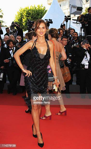 Actress Svetlana Metkina attends The Beaver premiere at the Palais des Festivals during the 64th Cannes Film Festival on May 17 2011 in Cannes France