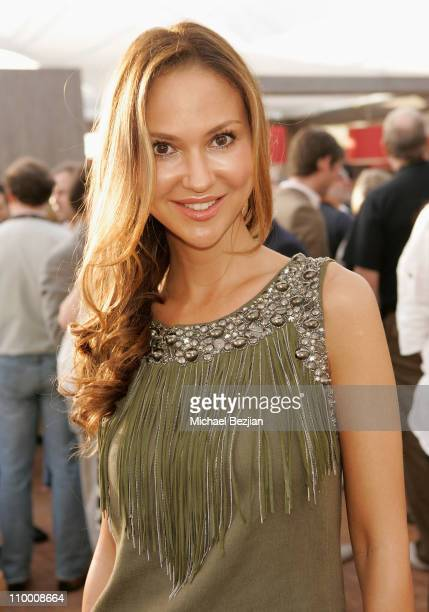 Actress Svetlana Metkina attends the Bold Films Party at Century Beach during the 61st Cannes International Film Festival on May 18 2008 in Cannes...