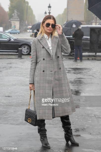 Actress Sveva Alviti attends the Dior Womenswear Spring/Summer 2021show as part of Paris Fashion Week on September 29, 2020 in Paris, France.
