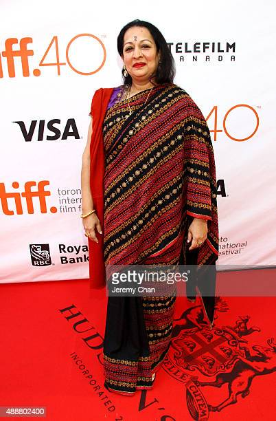"""Actress Swati Bhise attends """"The Man Who Knew Infinity"""" premiere during the 2015 Toronto International Film Festival at Roy Thomson Hall on September..."""