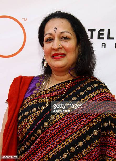 Actress Swati Bhise attends 'The Man Who Knew Infinity' premiere during the 2015 Toronto International Film Festival at Roy Thomson Hall on September...