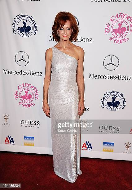 Actress Swoosie Kurtz arrives at the 26th Anniversary Carousel Of Hope Ball presented by MercedesBenz at The Beverly Hilton Hotel on October 20 2012...