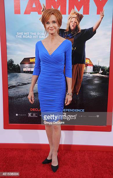 Actress Swoosie Kurtz arrives at the premiere of 'Tammy' at TCL Chinese Theatre on June 30 2014 in Hollywood California