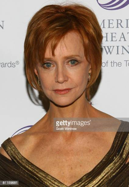 Actress Swoosie Kurtz attends The American Theatre Wing's annual Spring Gala at Cipriani on May 19 2008 in New York City