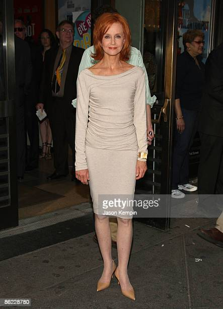 Actress Swoosie Kurtz attends the opening night of 'The Philanthropist' on Broadway at the Roundabout Theatre Company's American Airlines Theatre on...
