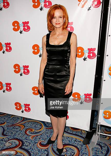 Actress Swoosie Kurtz attends the opening of 9 to 5 The Musical on Broadway at the Marriott Marquis Theatre on April 30 2009 in New York City