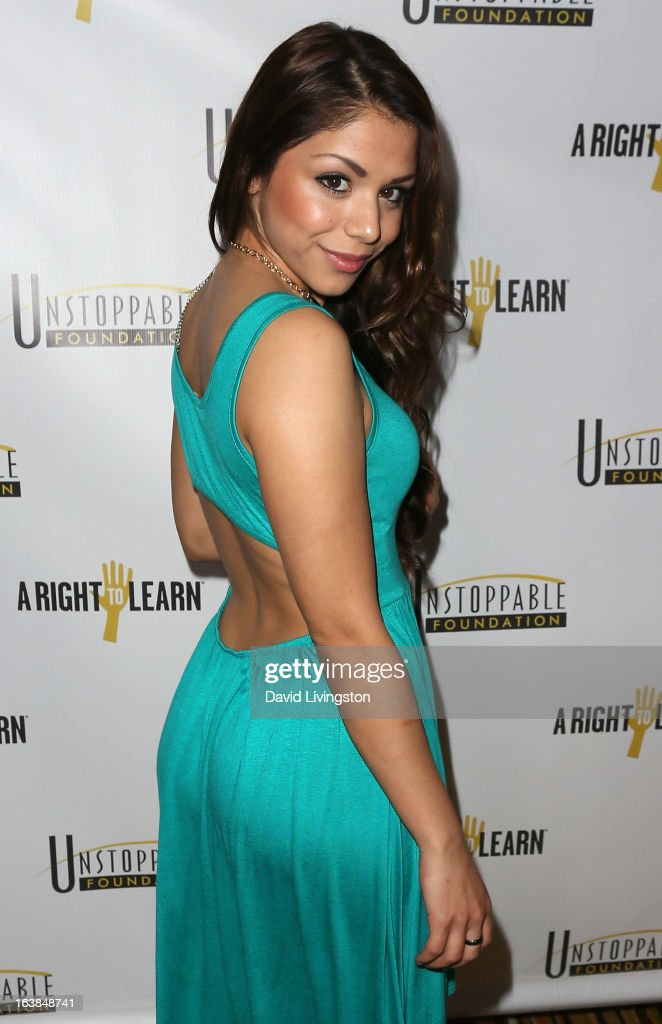 Actress Sy Franco attends the 4th Annual Unstoppable Gala at the Beverly Wilshire Four Seasons Hotel on March 16, 2013 in Beverly Hills, California.