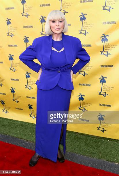 Actress Sybil Danning attends the LA Jewish Film Festival Opening Night Gala at Ahrya Fine Arts Theater on May 02 2019 in Beverly Hills California