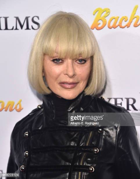 Actress Sybil Danning attends the premiere of RiverRock Films' 'Bachelor Lions' at The ArcLight Hollywood on January 9 2018 in Hollywood California