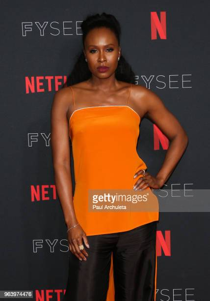Actress Sydelle Noel attends the #NETFLIXFYSEE For Your Consideration event for 'GLOW' at Netflix FYSEE At Raleigh Studios on May 30 2018 in Los...