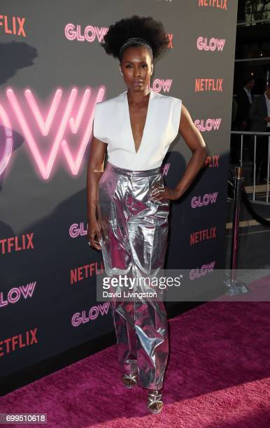 Actress Sydelle Noel attends the premiere of Netflix's 'GLOW' at The Cinerama Dome on June 21 2017 in Los Angeles California
