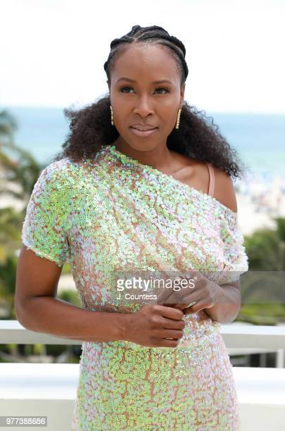 Actress Sydelle Noel poses for a portrait during the 22nd Annual American Black Film Festival at the Loews Miami Beach Hotel on June 15 2018 in Miami...
