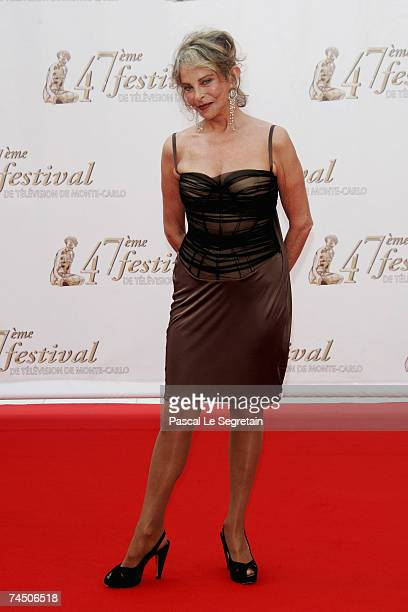 Actress Sydne Rome attends the opening night of the 2007 Monte Carlo Television Festival held at Grimaldi Forum on June 10 2007 in Monaco
