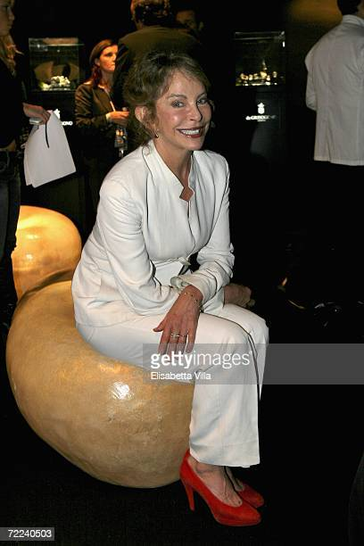 Actress Sydne Rome attends the Steps And Stars Award in Piazza di Spagna as part of the Rome Film Festival on October 21, 2006 in Rome, Italy.