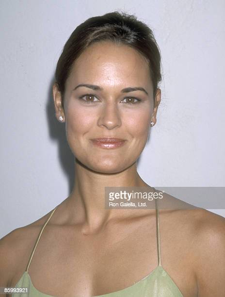 Actress Sydney Penny attend the WB Network Summer TCA Press Tour on July 25 1998 at Twin Palms Restaurant in Pasadena California