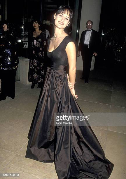Actress Sydney Penny attends the 11th Annual Soap Opera Digest Awards on February 17 1995 at Beverly Hilton Hotel in Beverly Hills California