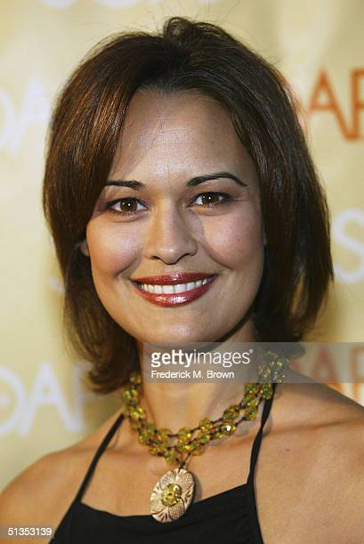 Actress Sydney Penny attends the Soapnet Fall Launch Party at the Falcon Restaurant on September 23 2004 in Hollywood California