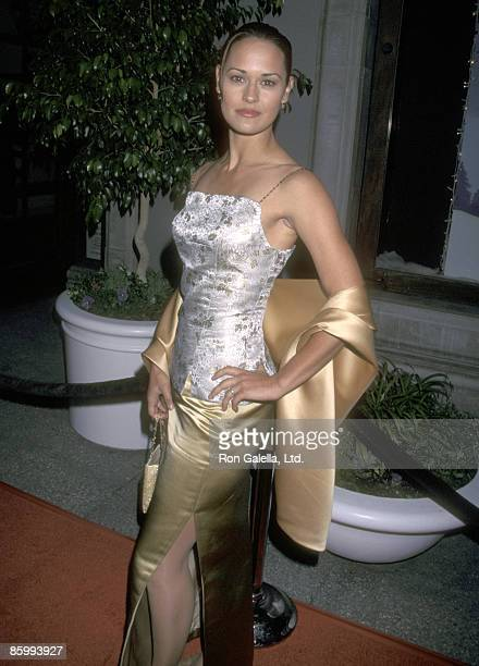 Actress Sydney Penny attends the WB Network Winter TCA Press Tour on January 7 1999 at Il Fornaio Restaurant in Pasadena California