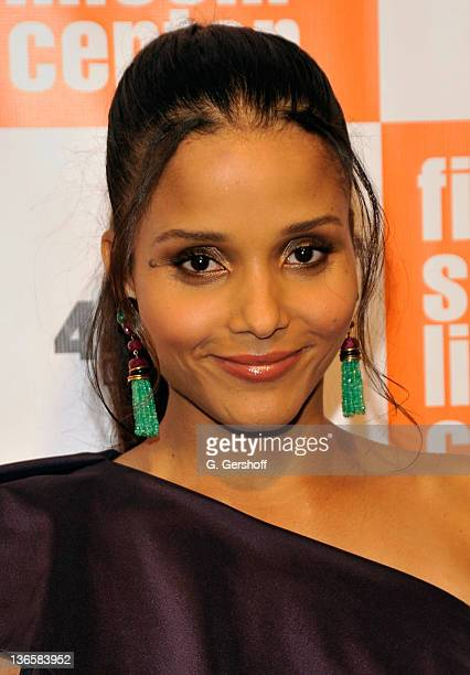 Actress Sydney Tamiia Poitier attends The Film Society of Lincoln Center's presentation of the 38th Annual Chaplin Award at Alice Tully Hall on May...