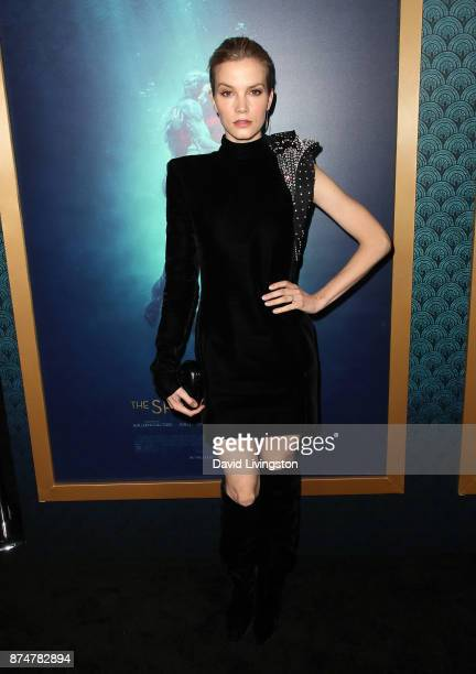 Actress Sylvia Hoeks attends the premiere of Fox Searchlight Pictures' 'The Shape of Water' at the Academy of Motion Picture Arts and Sciences on...