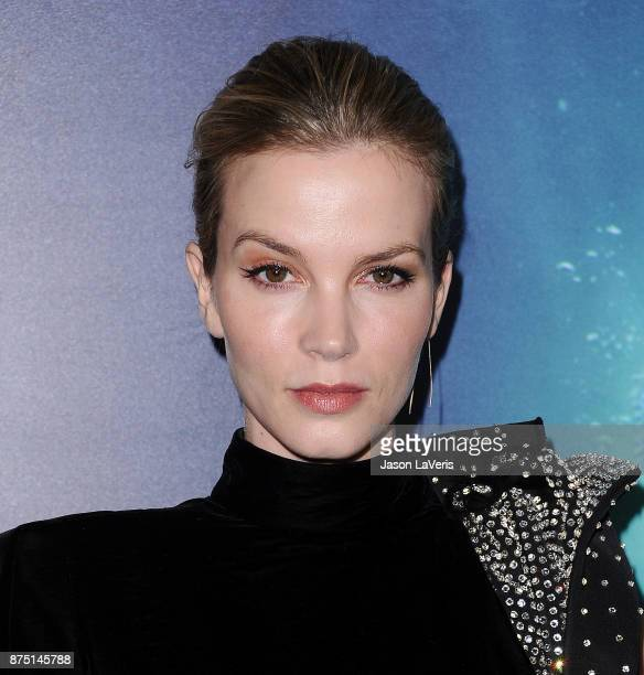 Actress Sylvia Hoeks attends the premiere of 'The Shape of Water' at the Academy of Motion Picture Arts and Sciences on November 15 2017 in Los...