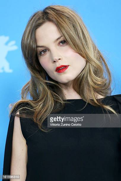 Actress Sylvia Hoeks attends the 'The Best Offer' Photocall during the 63rd Berlinale International Film Festival at the Grand Hyatt Hotel on...
