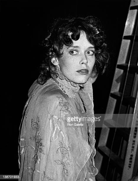 Actress Sylvia Kristel attends 36th Annual Golden Globe Awards on January 27 1979 at the Beverly Hilton Hotel in Beverly Hills California