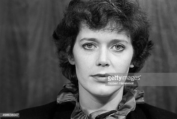 Actress Sylvia Kristel star of four Emmanuelle films postrait Amsterdam Netherlands ca 1975