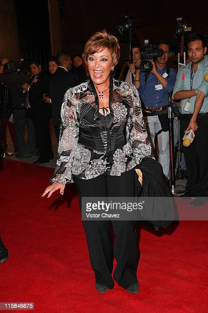 Actress Sylvia Pasquel attends the 2009 Ariel 51 awards at Auditorio Nacional on March 31 2009 in Mexico City Mexico