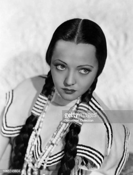 """Actress Sylvia Sidney in a scene from the movie """"Behold My Wife!"""""""