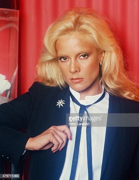 Actress Sylvie Vartan poses for a portrait in 1978 in Los Angeles California