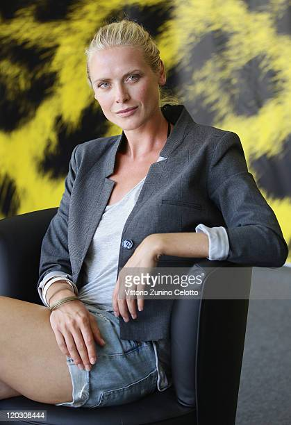 Actress Synnove Macody Lund attends the Headhunters photocall during the 64th Festival del Film di Locarno on August 4 2011 in Locarno Switzerland