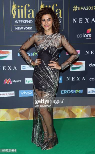 Actress Taapsee Pannu attends the 2017 International Indian Film Academy Festival at MetLife Stadium on July 14 2017 in East Rutherford New Jersey