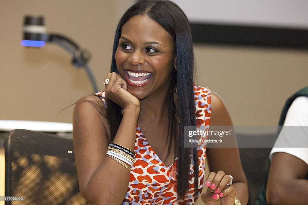 Actress Tabitha Brown attends the 'Laughing To The Bank' movie promo visit at North Carolina Agricultural & Technical State University on August 20, 2013 in Greensboro, North Carolina.