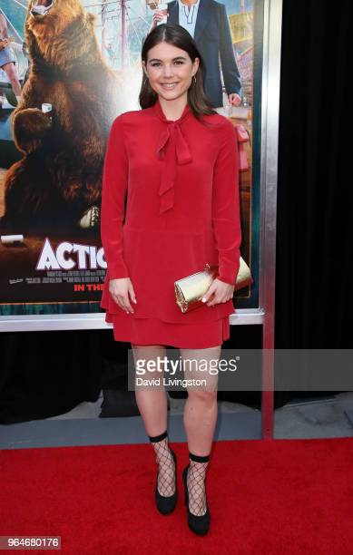 Actress Tabitha Brownstone attends the premiere of Paramount Pictures' 'Action Point' at ArcLight Hollywood on May 31 2018 in Hollywood California
