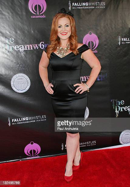 Actress Tabitha Marsden arrives at the Falling Whistles Benefit Concert at King King on July 6 2011 in Hollywood California