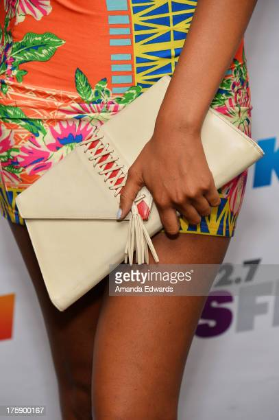Actress Taelyr Robinson arrives at the 1027 KIIS FM Teen Choice Awards PreParty at W Los Angeles Westwood on August 9 2013 in Los Angeles California