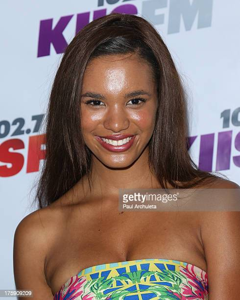 Actress Taelyr Robinson attends the 1027 KIISFM's Teen Choice Awards preparty at the W Los Angeles Westwood on August 9 2013 in Los Angeles California